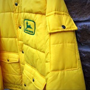 John Deere Jackets & Coats - RARE vintage John Deere large Puffy Jacket Coat